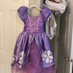 SOFIA THE FIRST kids costume size 5/6